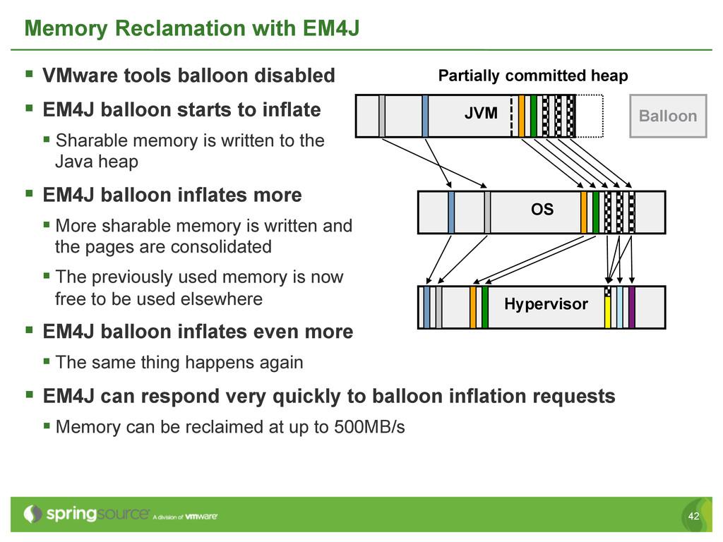 42 § VMware tools balloon disabled § EM4J b...