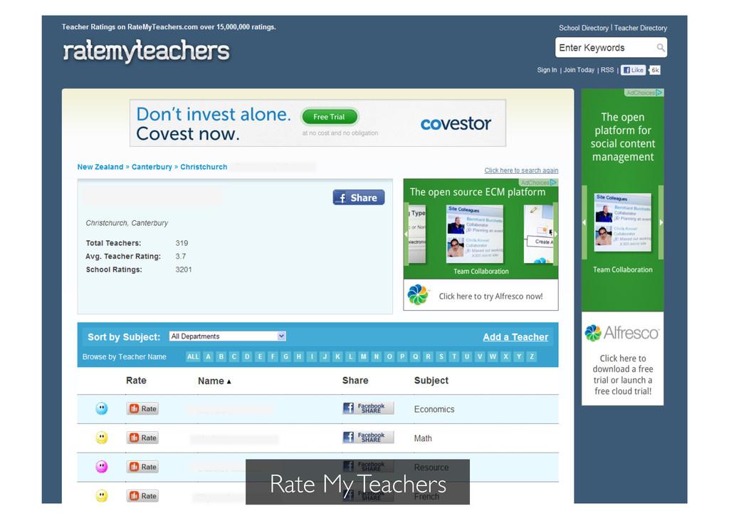 Rate My Teachers