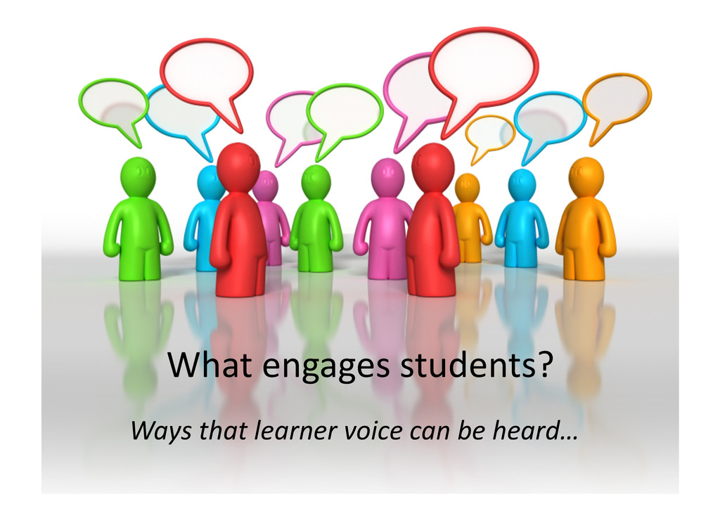 Whatengagesstudents? Waysthatlearnervoice...