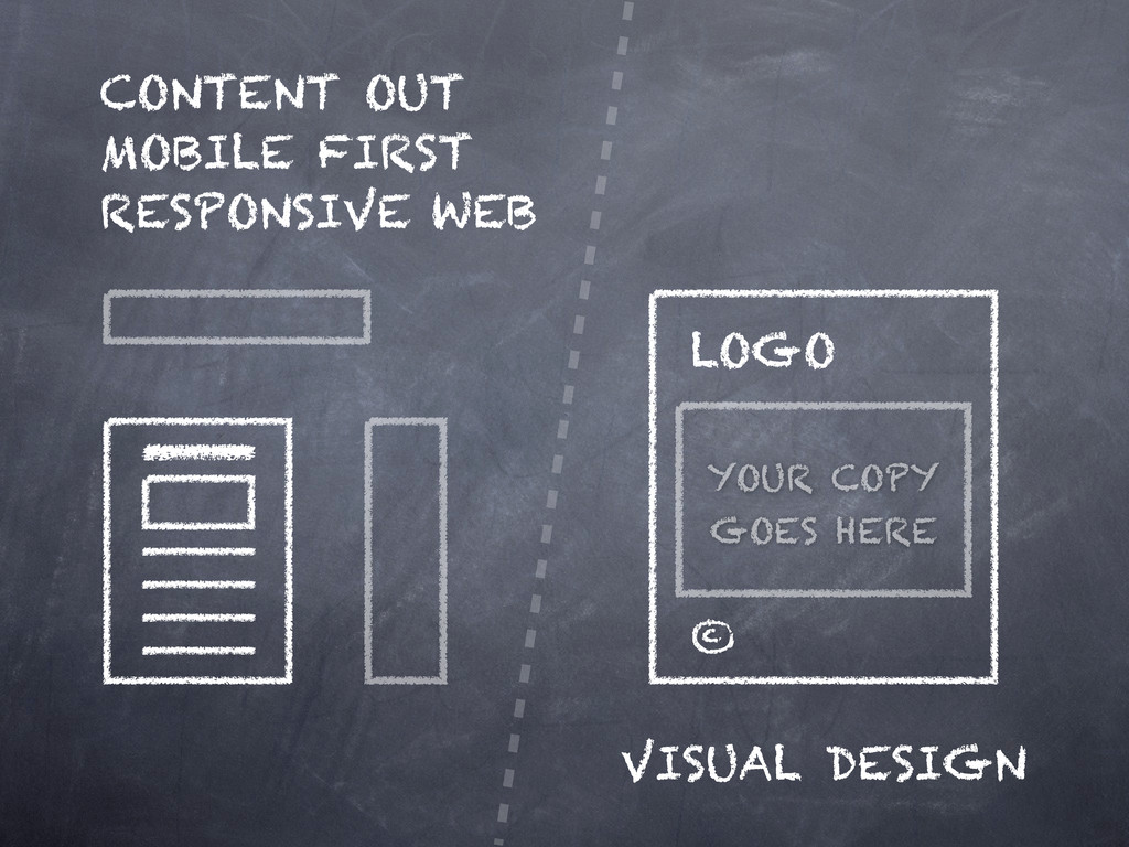 CONTENT OUT MOBILE FIRST RESPONSIVE WEB VISUAL ...