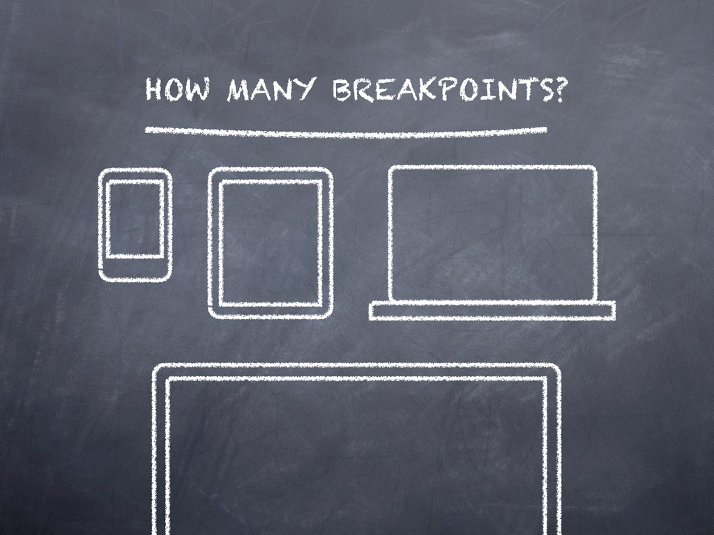 HOW MANY BREAKPOINTS?