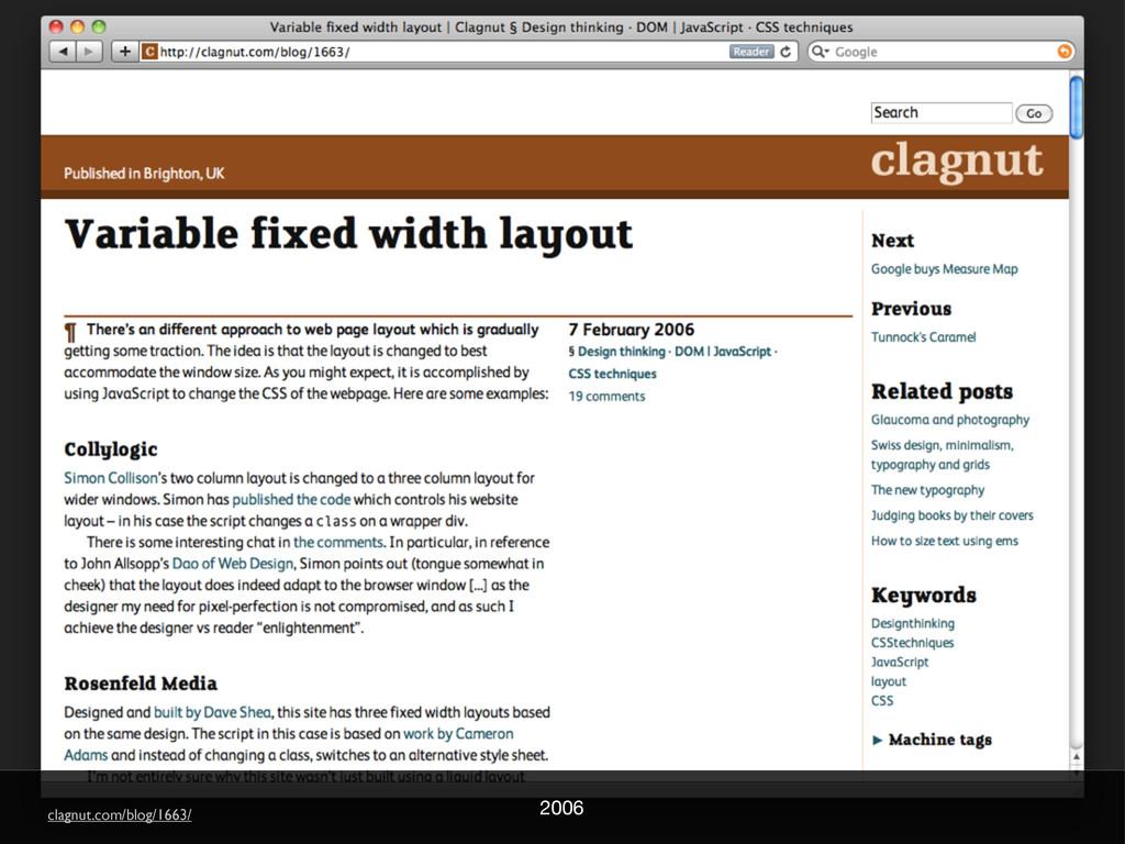2006 clagnut.com/blog/1663/