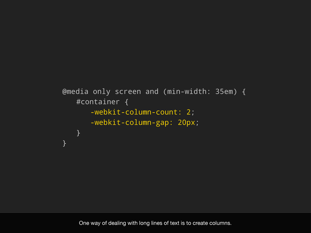 @media only screen and (min-width: 35em) { #con...