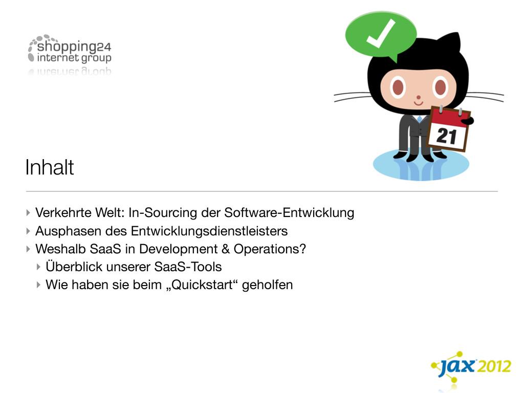 Inhalt ‣ Verkehrte Welt: In-Sourcing der Softwa...