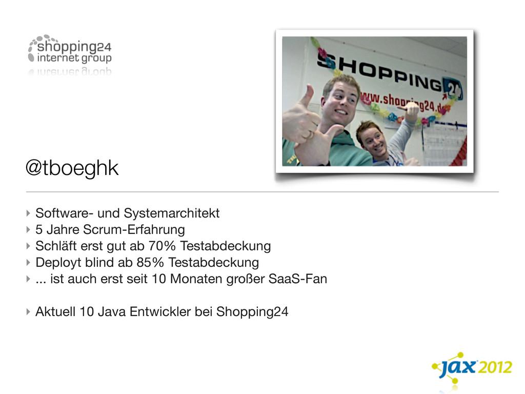 @tboeghk ‣ Software- und Systemarchitekt ‣ 5 Ja...