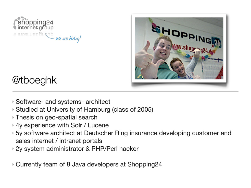@tboeghk ‣ Software- and systems- architect ‣ S...