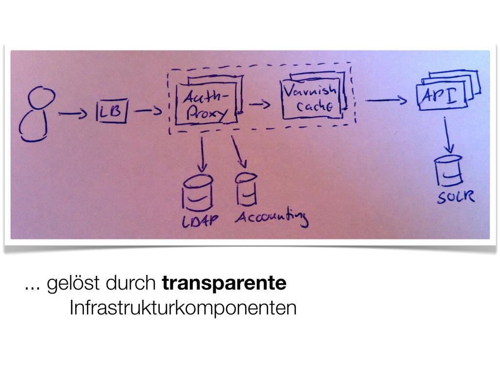 ... gelöst durch transparente Infrastrukturkomp...