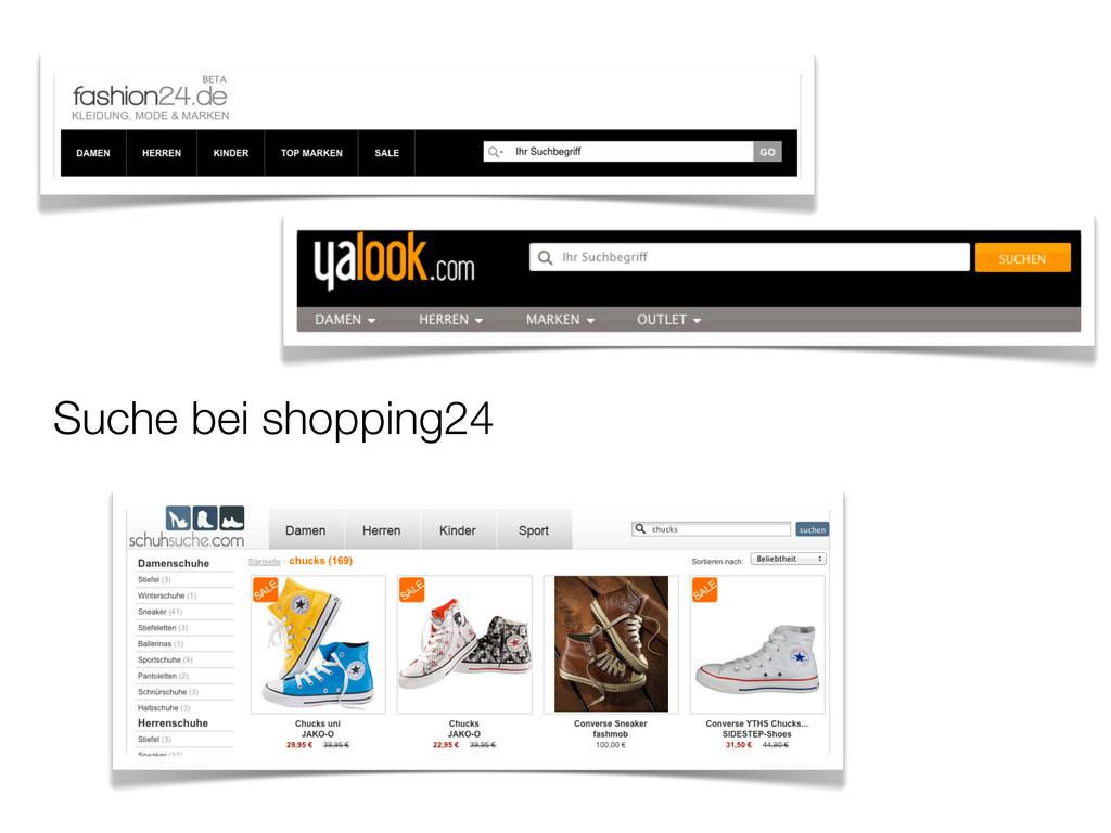 Suche bei shopping24