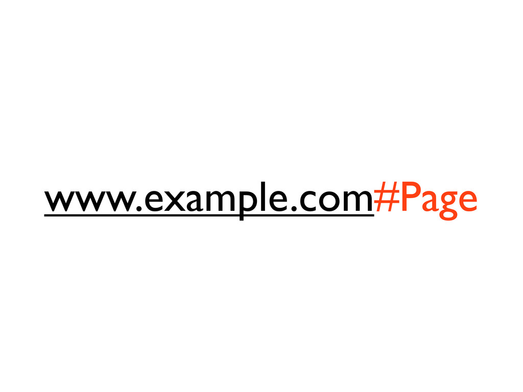 www.example.com#Page