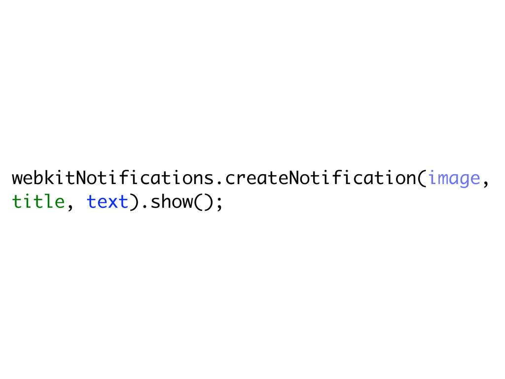 webkitNotifications.createNotification(image, t...