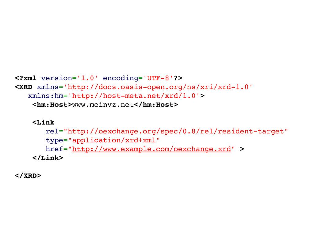 <?xml version='1.0' encoding='UTF-8'?> <XRD xml...