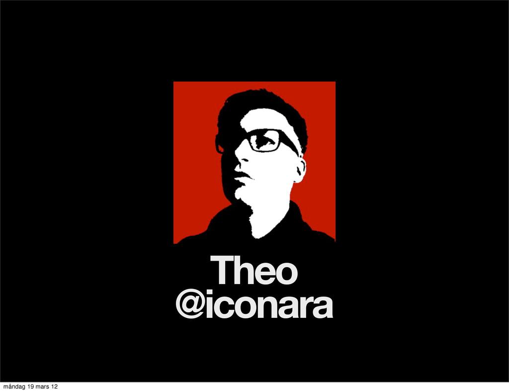 Theo @iconara måndag 19 mars 12