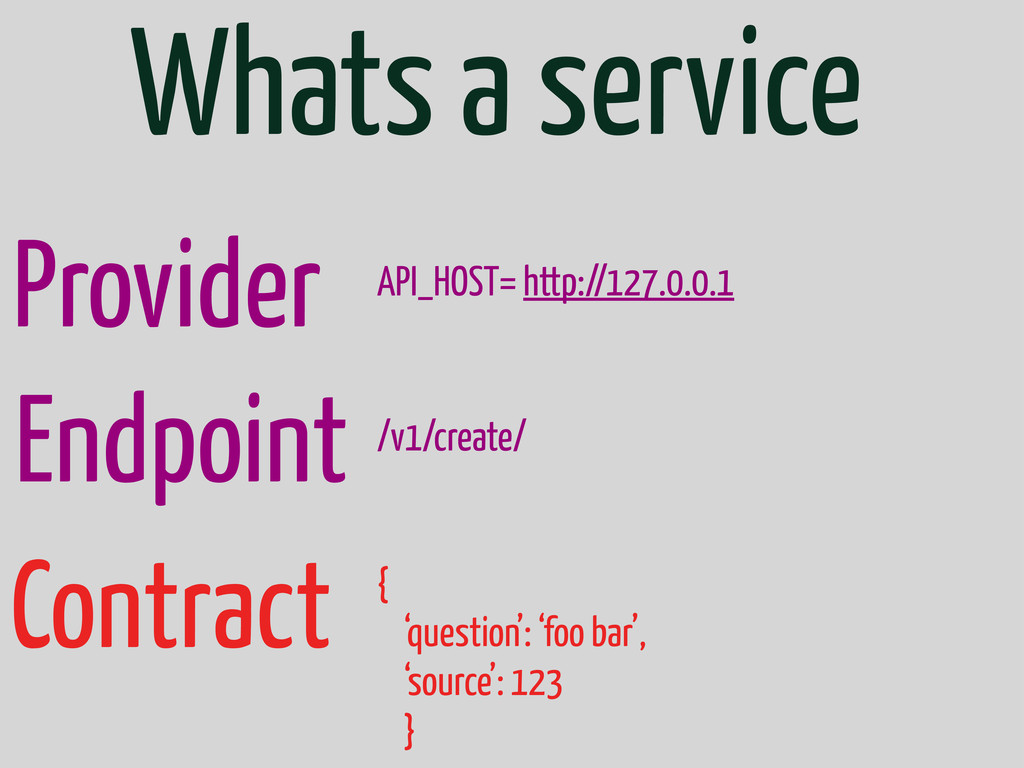 Whats a service Provider Endpoint API_HOST= htt...