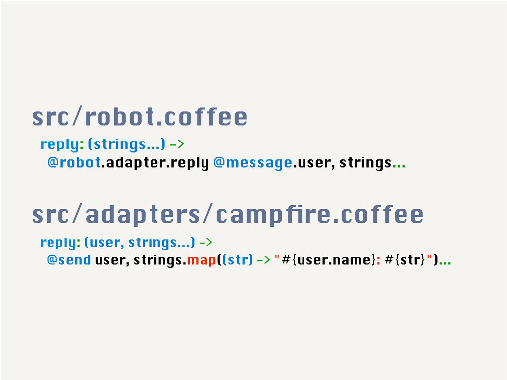 reply: (strings...) -> @robot.adapter.reply @me...