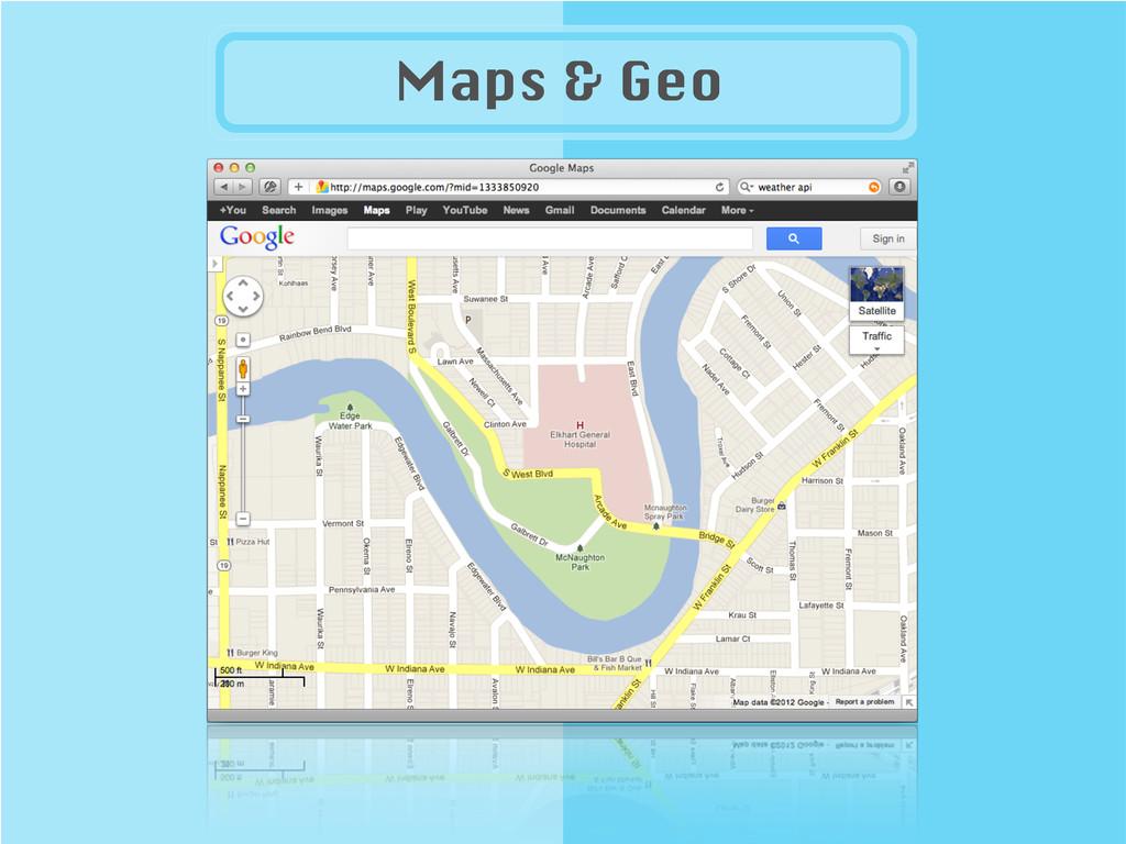 Maps & Geo