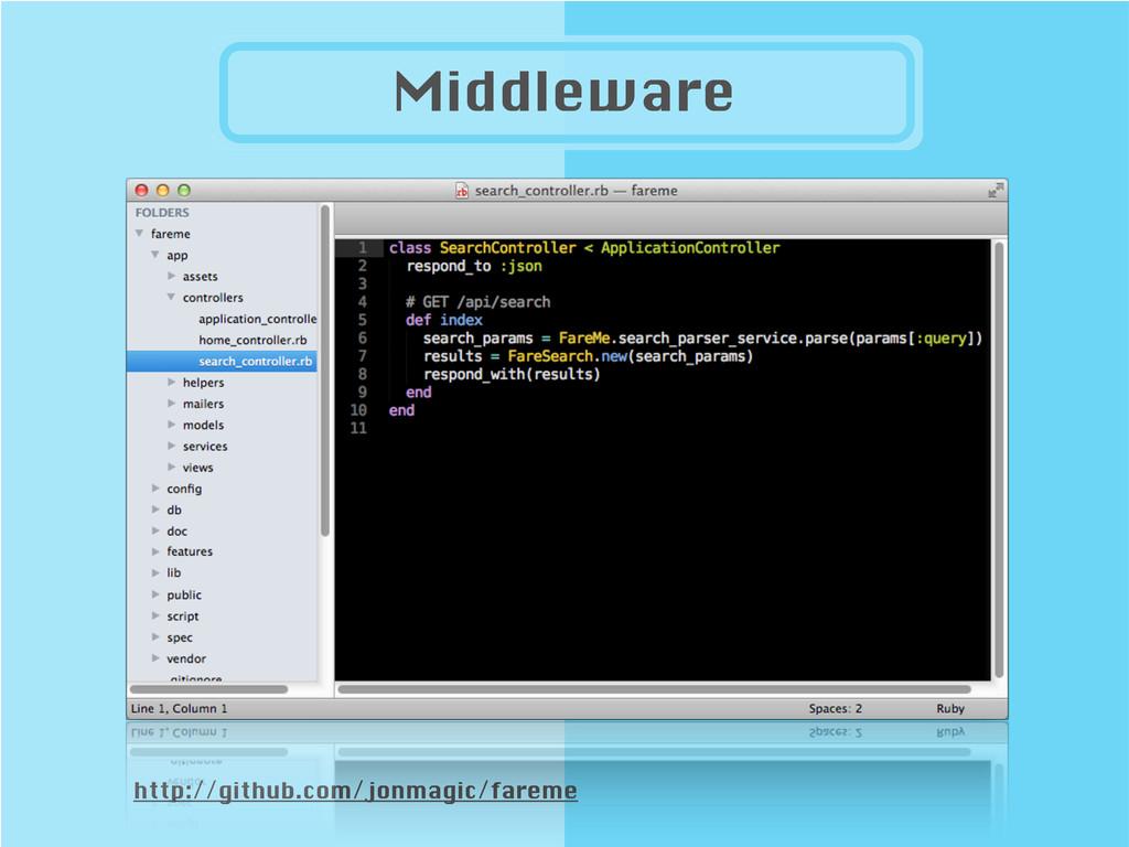 http://github.com/jonmagic/fareme Middleware