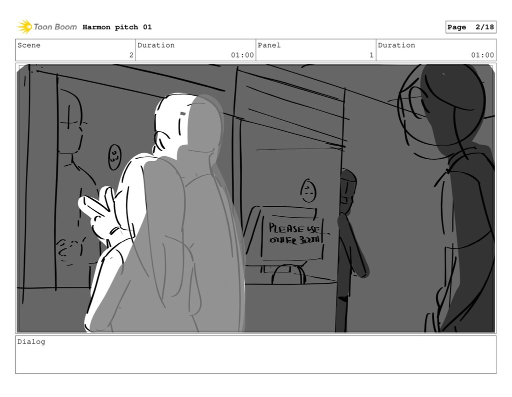 Scene 2 Duration 01:00 Panel 1 Duration 01:00 D...