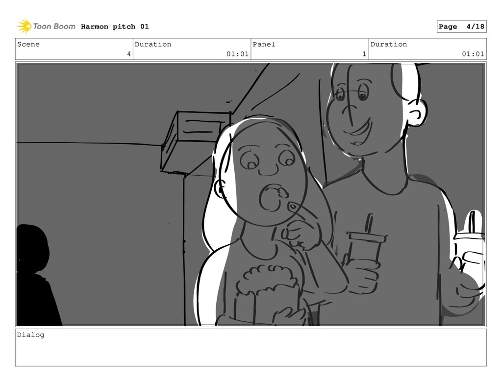 Scene 4 Duration 01:01 Panel 1 Duration 01:01 D...