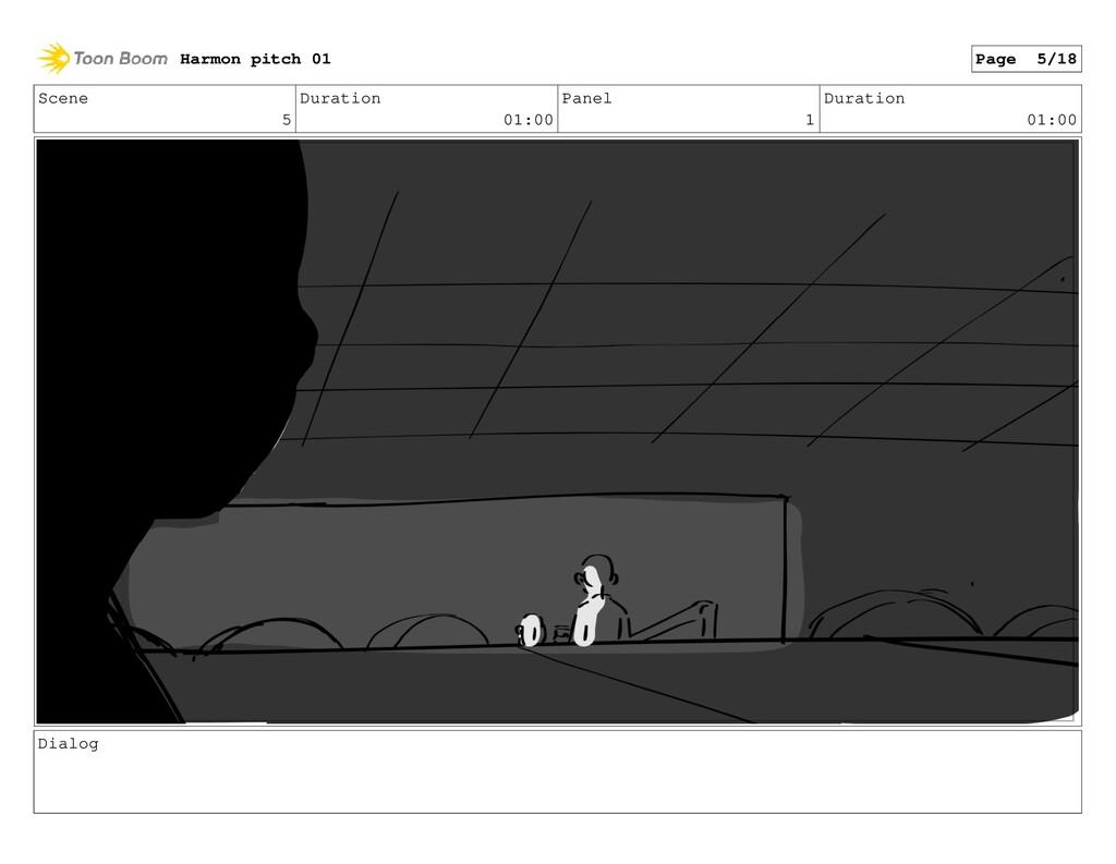 Scene 5 Duration 01:00 Panel 1 Duration 01:00 D...