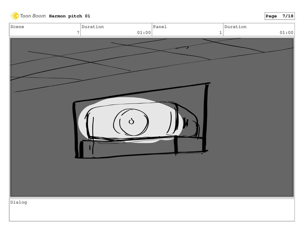 Scene 7 Duration 01:00 Panel 1 Duration 01:00 D...
