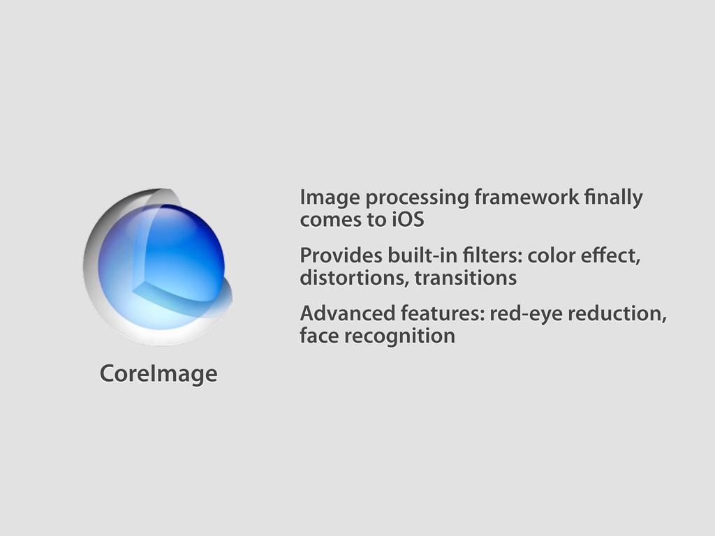 Image processing framework nally comes to iOS A...