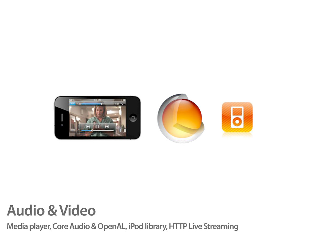 Audio & Video Media player, Core Audio & OpenAL...