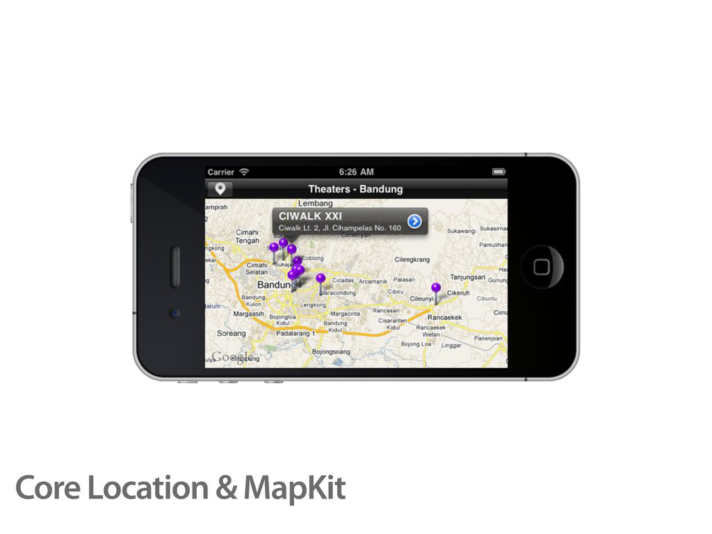 Core Location & MapKit