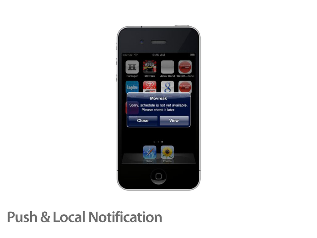 Push & Local Notification