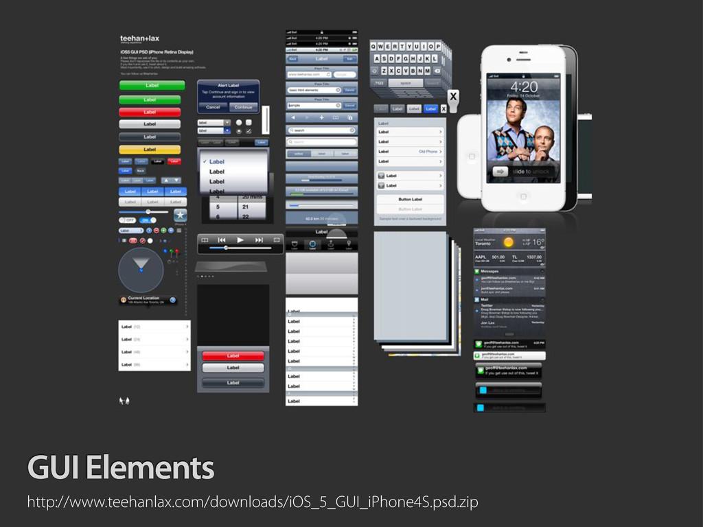 GUI Elements http://www.teehanlax.com/downloads...