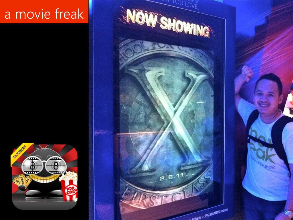 a movie freak