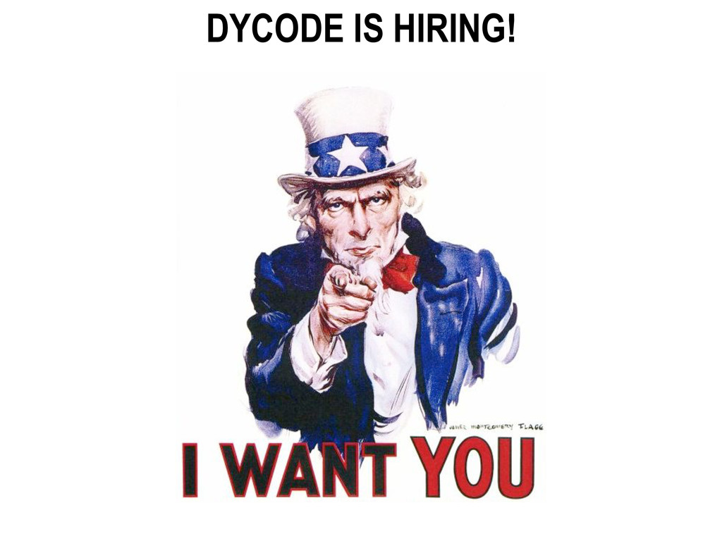 DYCODE IS HIRING!