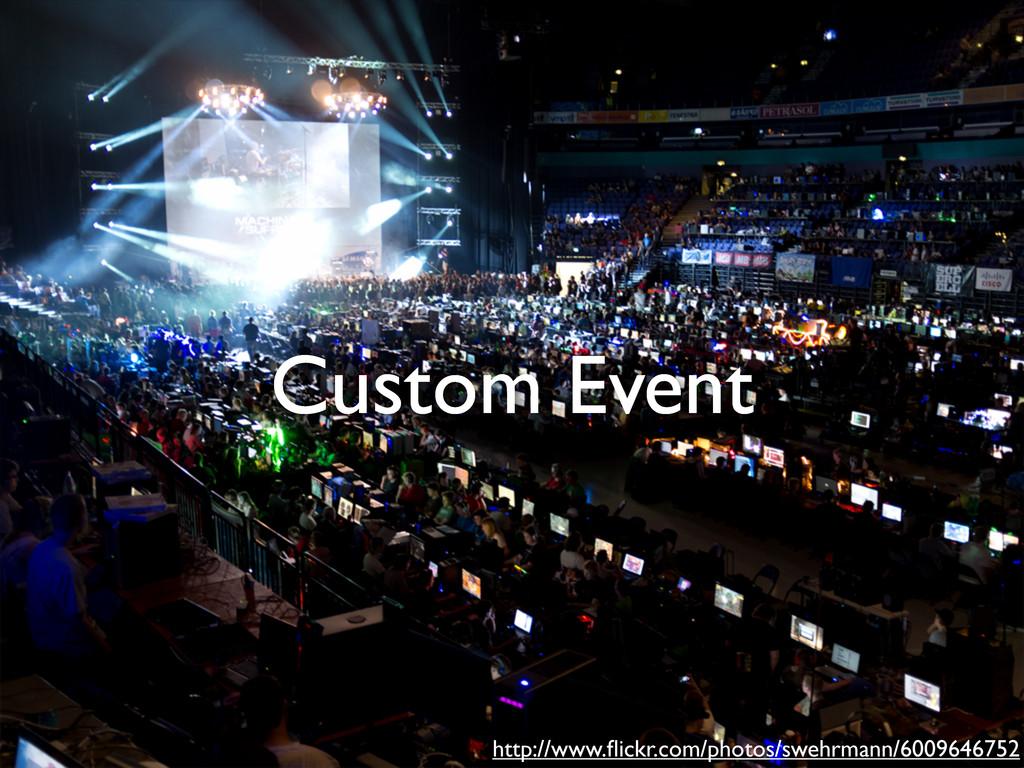 Custom Event http://www.flickr.com/photos/swehrm...