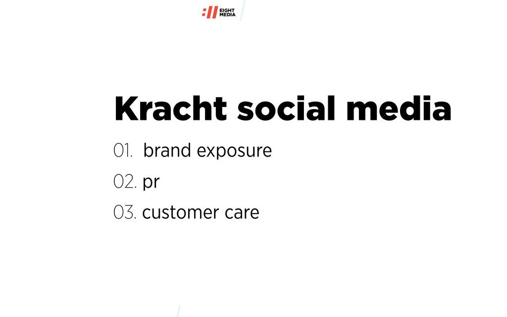 Kracht social media 01. brand exposure 02. pr 0...