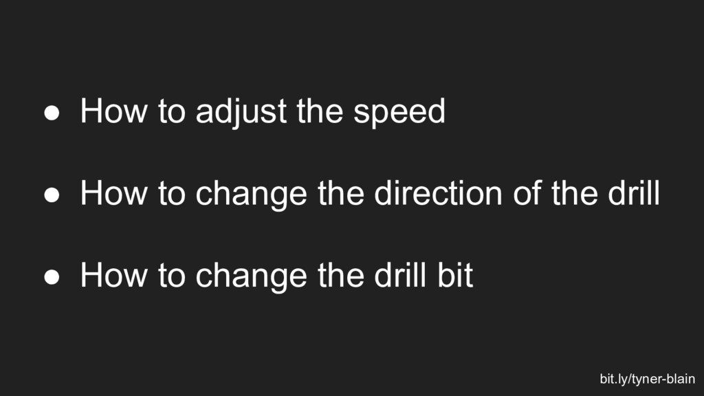 ● How to adjust the speed ● How to change the d...