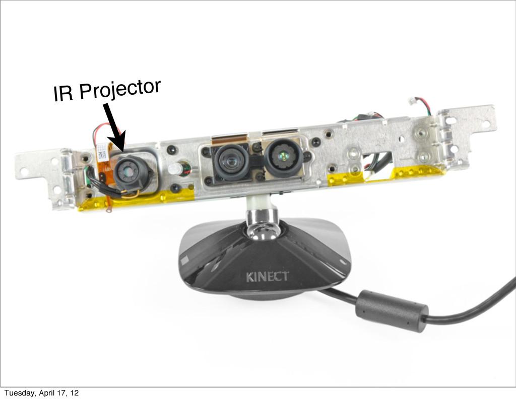 IR Projector Tuesday, April 17, 12