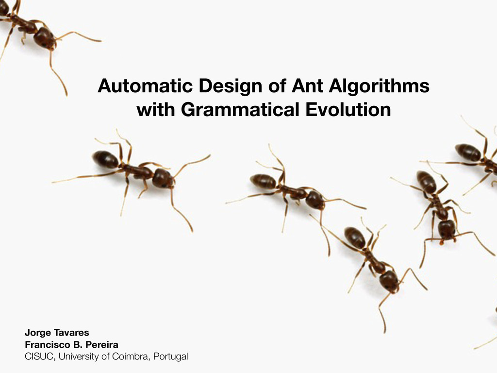 Automatic Design of Ant Algorithms with Grammat...