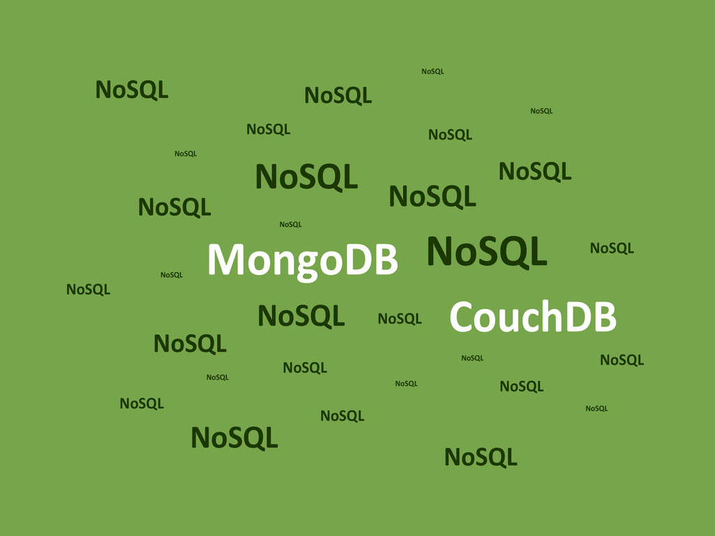 NoSQL NoSQL NoSQL NoSQL NoSQL NoSQL NoSQL NoSQL...