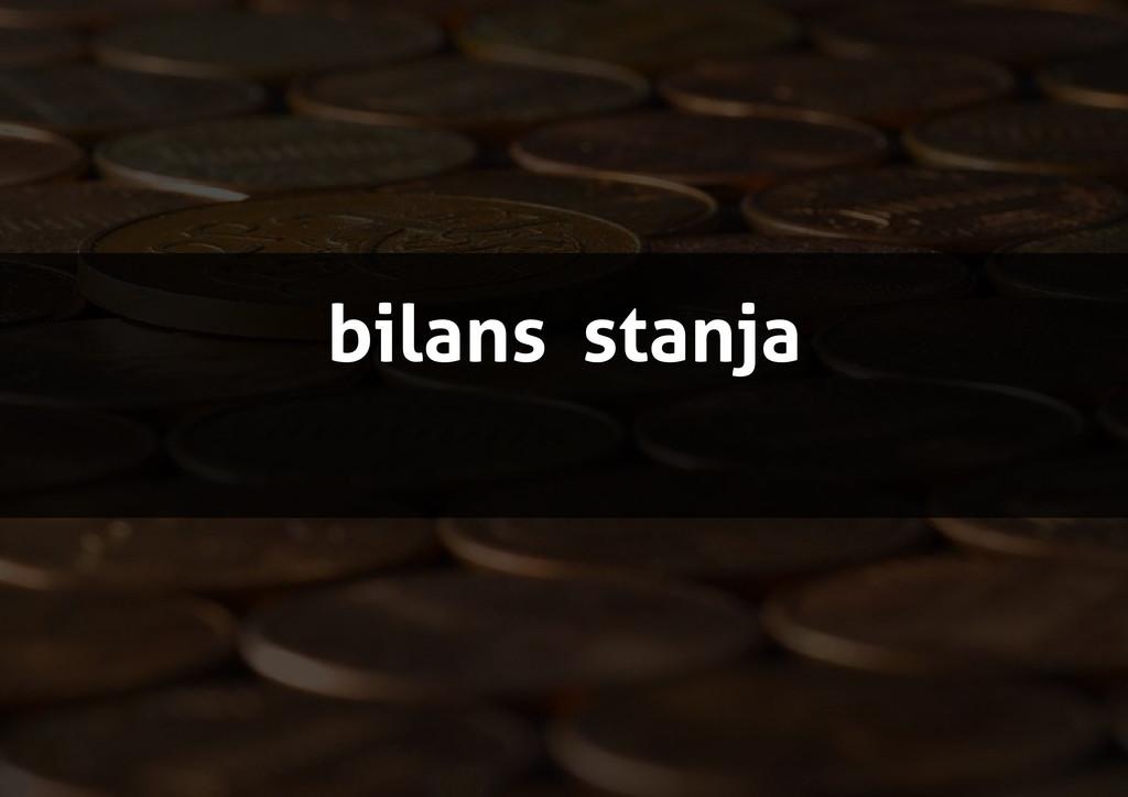 bilans stanja