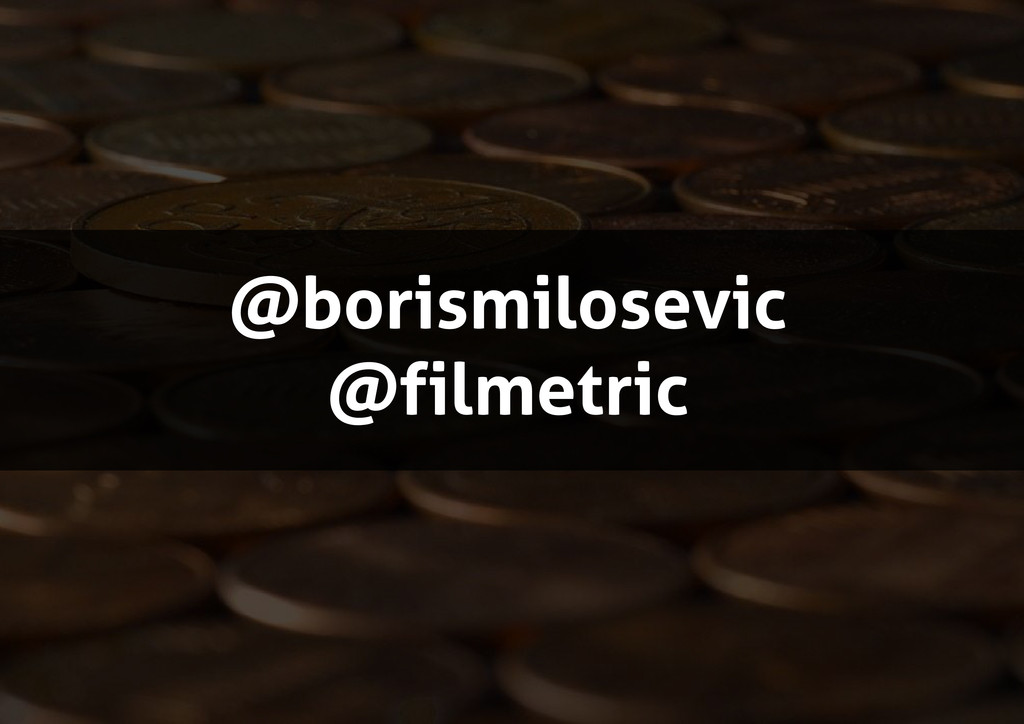@borismilosevic @filmetric