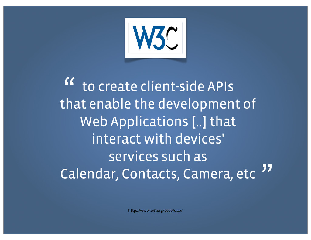to create client-side APIs that enable the deve...