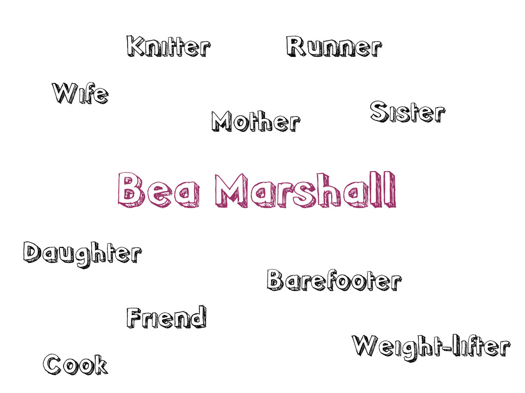 Bea Marshall Wife Mother Sister Daughter Friend...