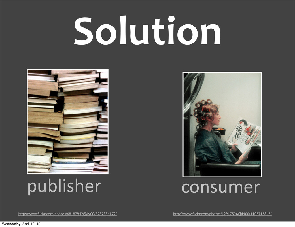 Solution publisher consumer http://www.flickr.co...