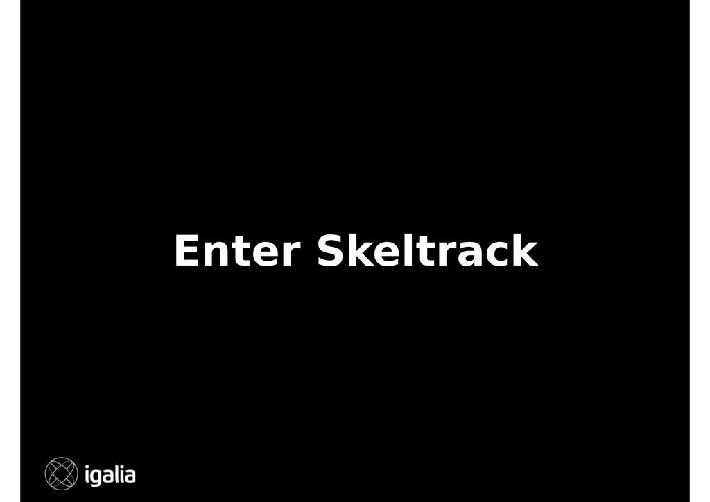 Enter Skeltrack