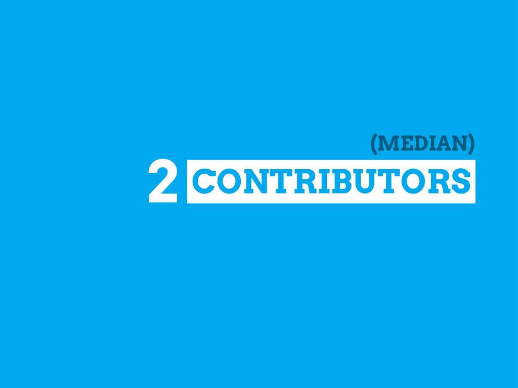 CONTRIBUTORS 2 (MEDIAN)