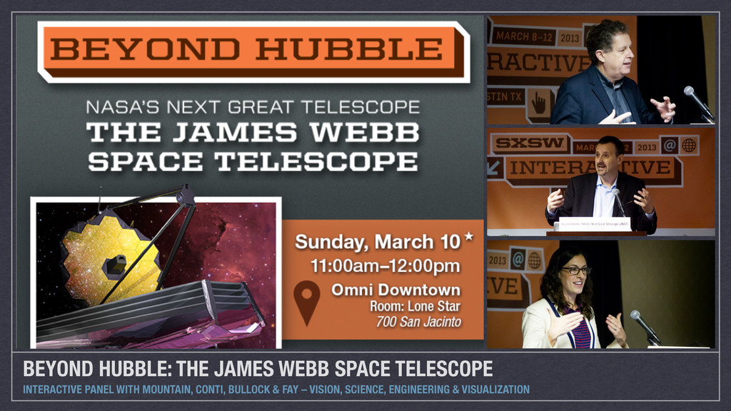 BEYOND HUBBLE: THE JAMES WEBB SPACE TELESCOPE I...