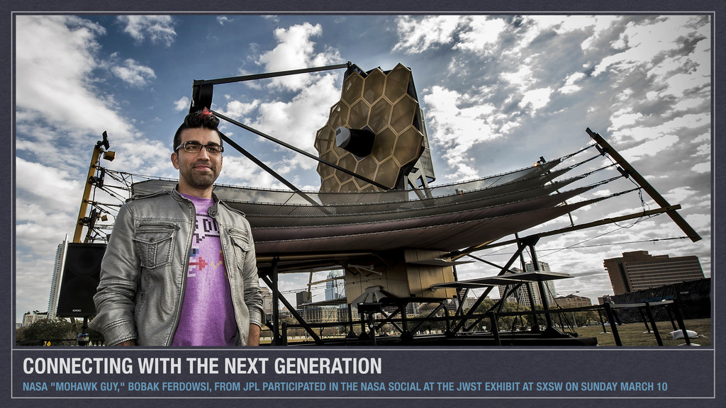 """CONNECTING WITH THE NEXT GENERATION NASA """"MOHAW..."""