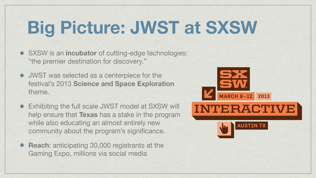SXSW is an incubator of cutting-edge technologi...