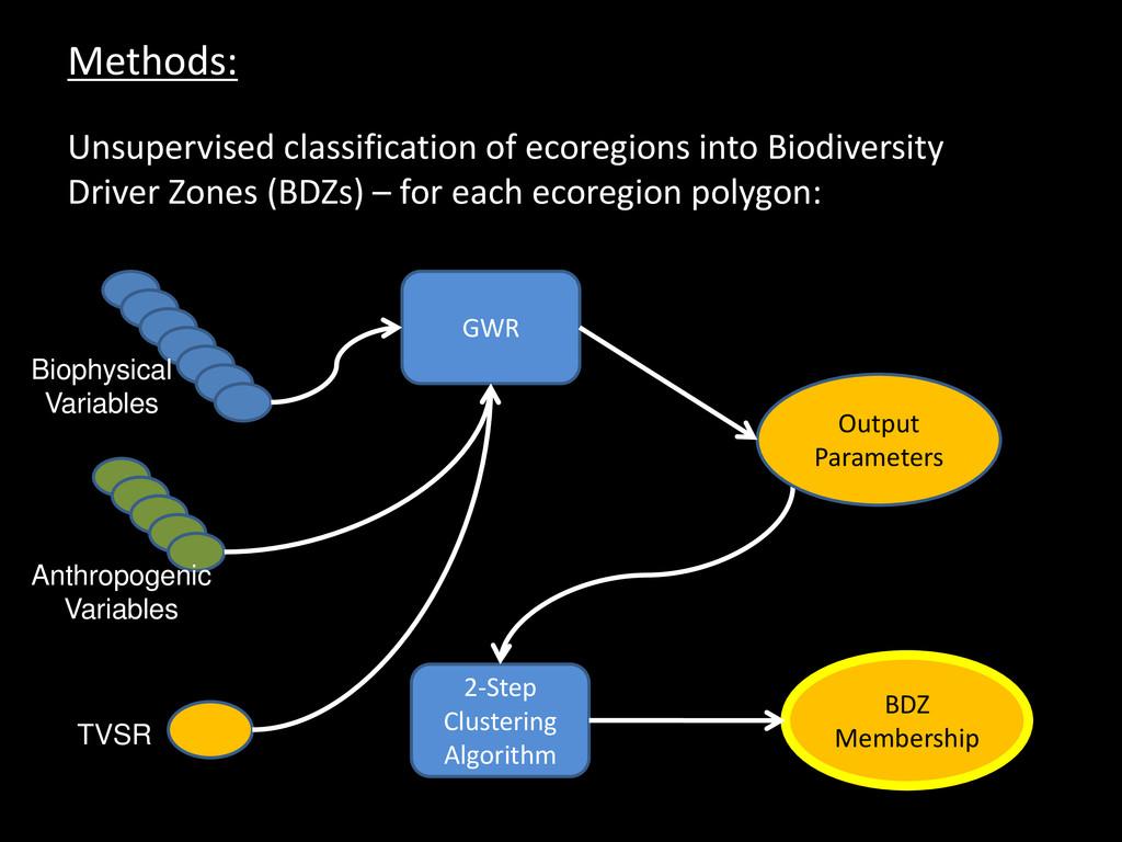 Methods: Unsupervised classification of ecoregi...