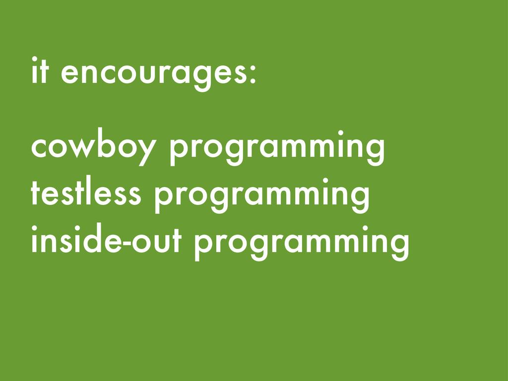 cowboy programming testless programming inside-...