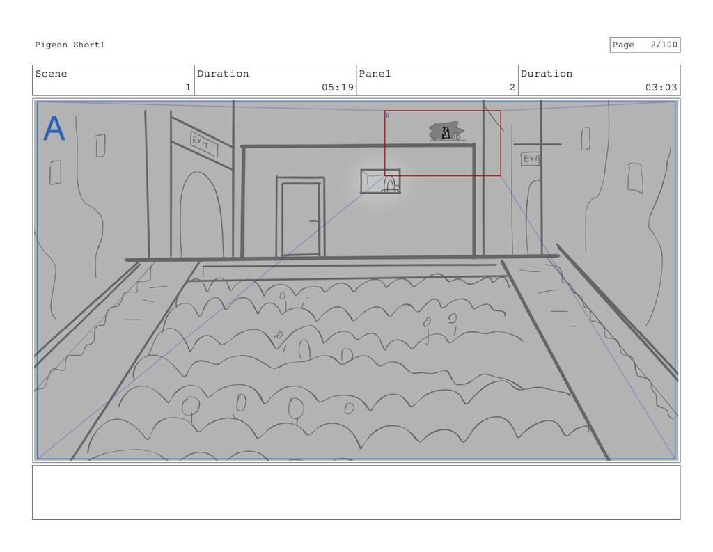 Scene 1 Duration 05:19 Panel 2 Duration 03:03 P...